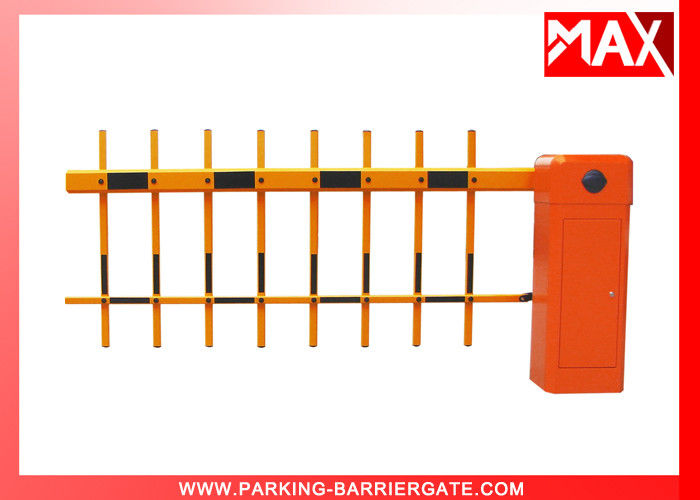 Manual Release Parking Barrier Gate with 50 Meters Remote Controller Two Fence Arm
