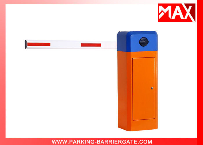 Automatic Boom Barrier 6M Straight 350*280*920mm Size , Car Park Security Barriers