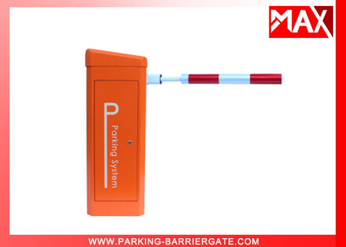 Round Arm Parking Barrier Gate / Security Boom Gate Rising Arm Barriers