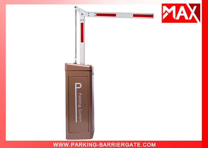 Vehicle Barrier Gate Arm  4 Sec 6mts Loop Detector Automatically Open