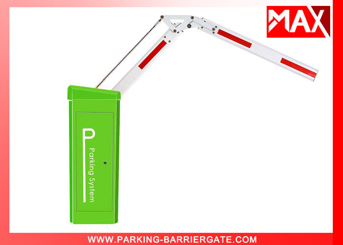 24V DC Motor Car Park Barrier , Automatic Arm Barrier No Clutch Design