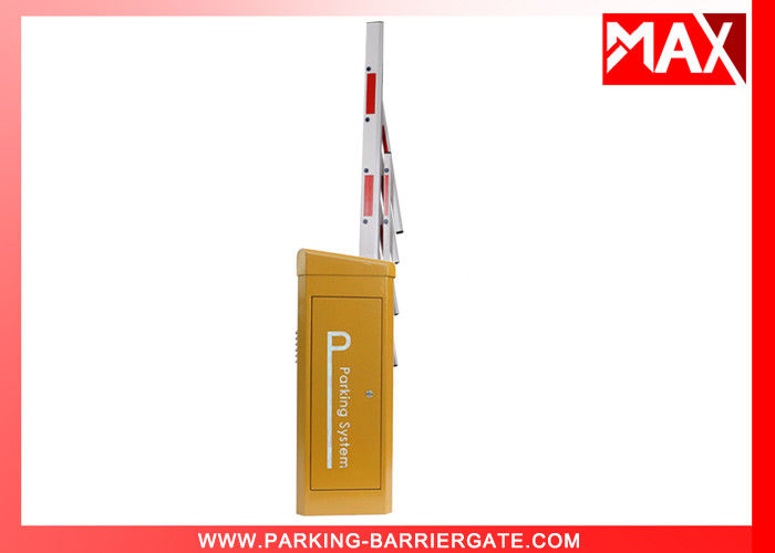 Intelligent  Car Park Barriers / MX-88 Car Barrier Gate With Boom Arm