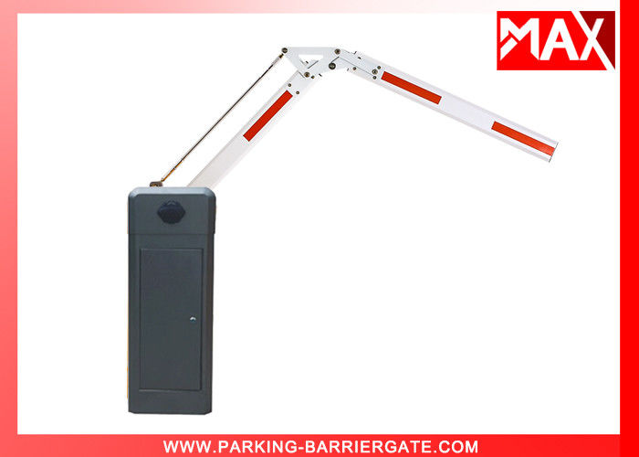 Folding Automatic Boom Barrier Gate Arm Anti Collision Swing Out 90° / 180°