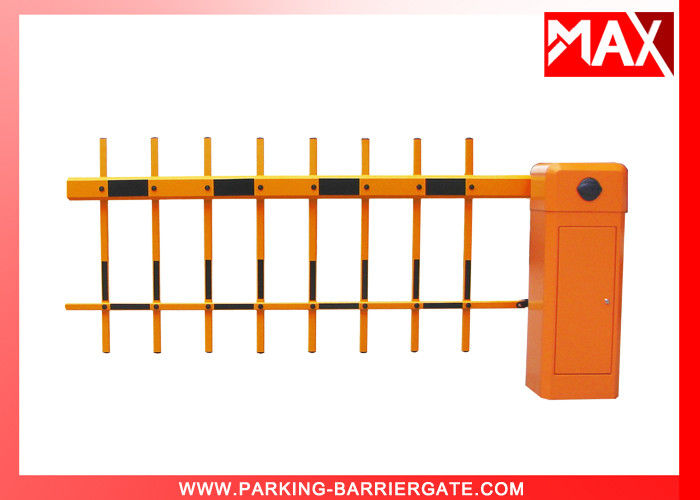 Remote Control Barrier Gate Smart Parking System with Two Fence Arm 1m-4m Length