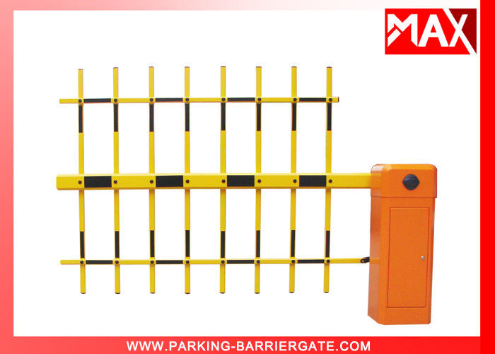 Heavy Duty Automatic Boom Barrier , Traffic Barrier Gate Safety 50Hz ~ 60Hz
