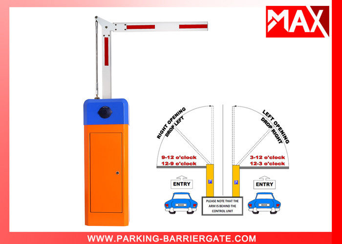 Straight Boom Car Park Barriers With Remote Control Heavy Duty , Car Park Safety Barriers