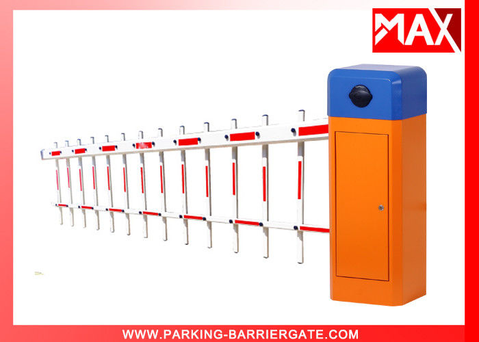 Smart 0.6s Security Barrier Gate Auto Highway Toll With Heavy Duty Motor