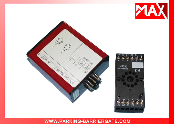 High Sensitivity Single Loop / Channel Vehicle Detector for Parking Access Control